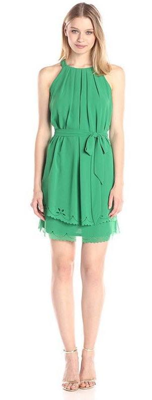 Jessica Simpson Green Dress