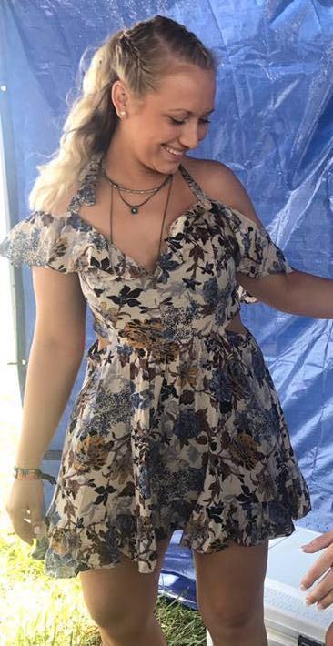 Haute Rogue Floral Dress