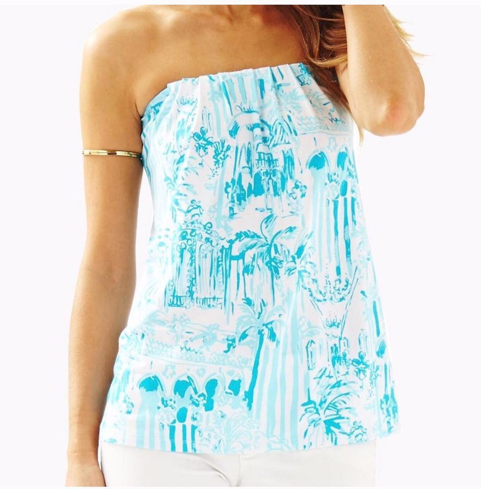 Lilly Pulitzer Tyra tube top