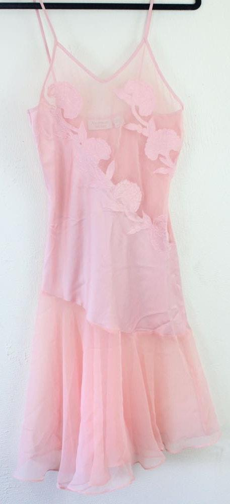 Victoria's Secret Vintage  Gold Label pink Negligee