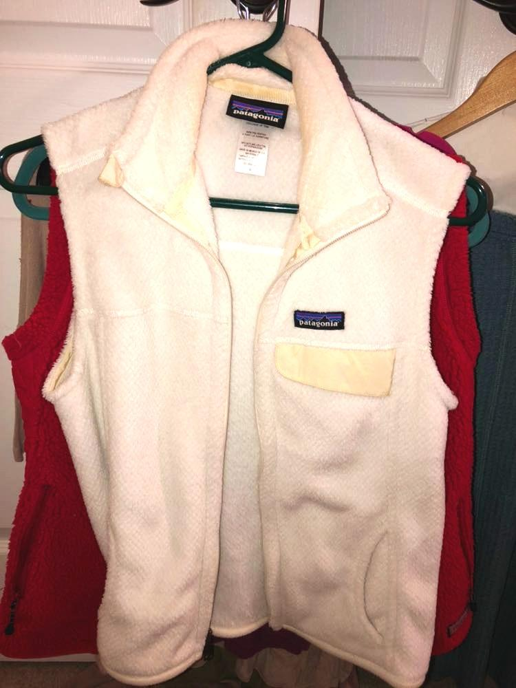 Patagonia Womens White  Vest