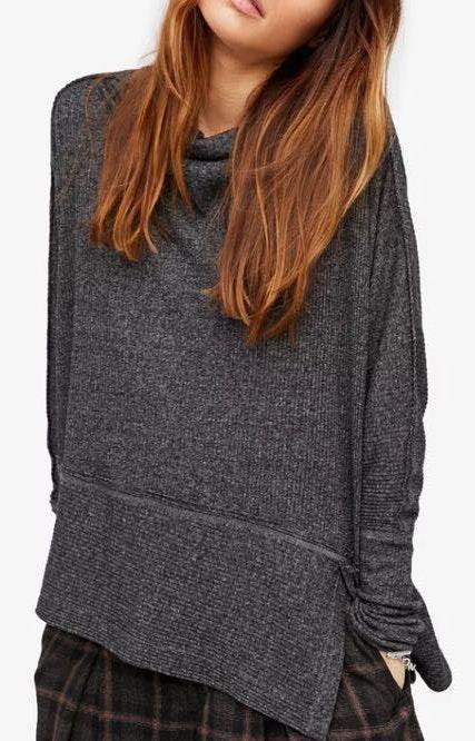 Free People Grey Sweater