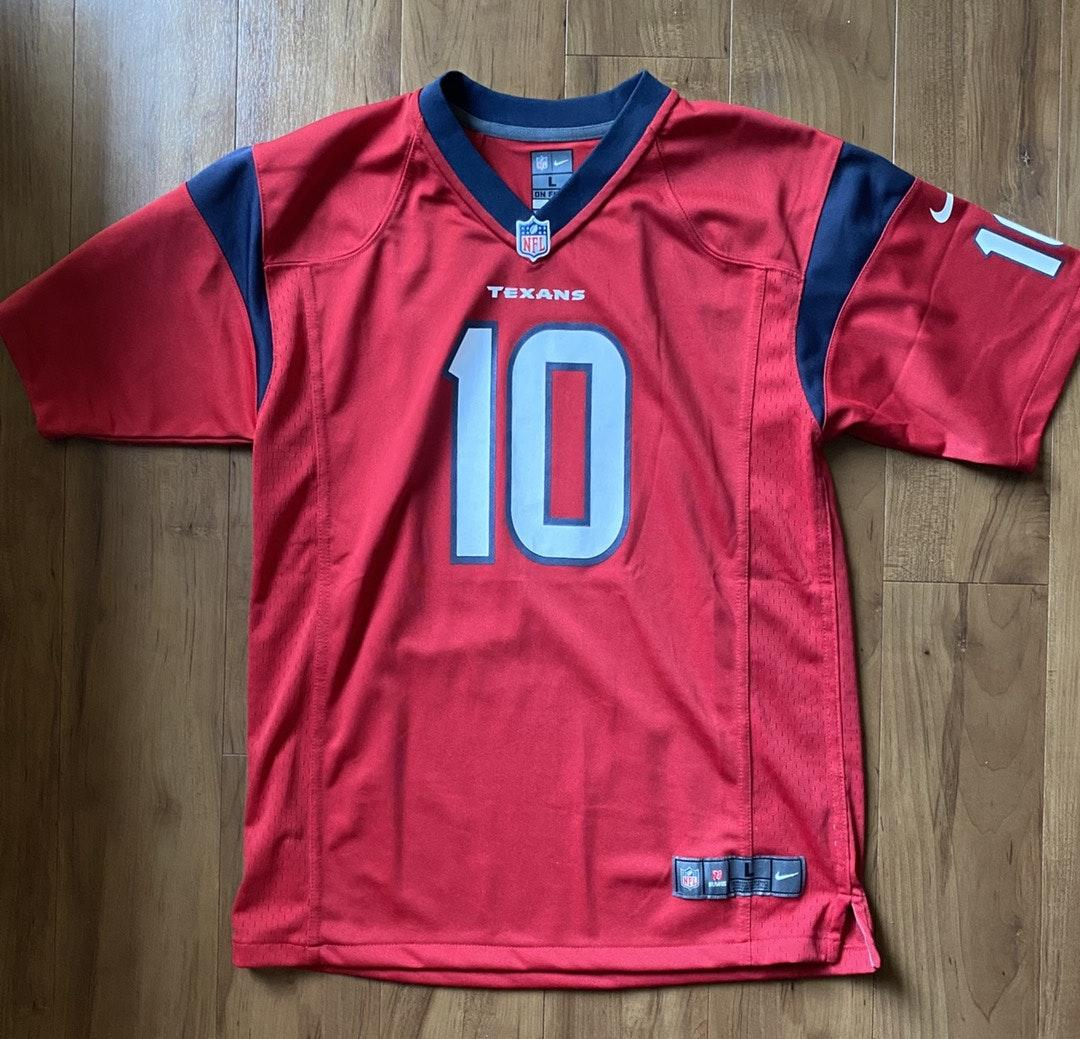 Nike Houston Texans NFL Jersey Red - $18 (82% Off Retail) - From ...