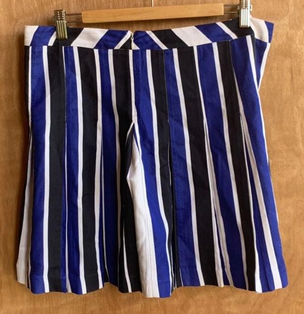 Marni. Striped Pleated Skirt