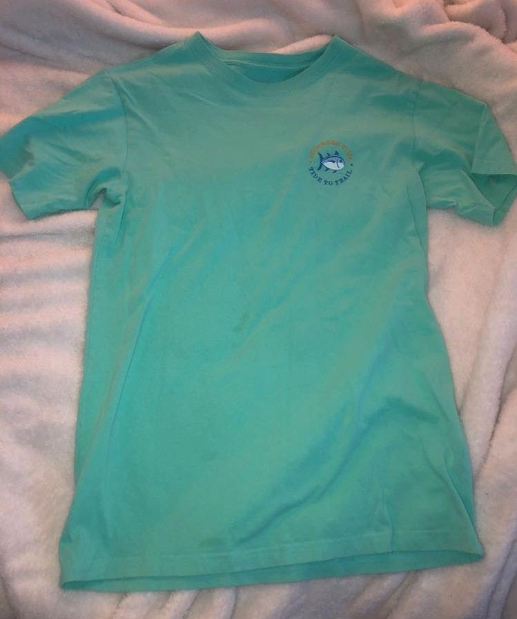 Southern Tide Comfy Turquoise T-Shirt