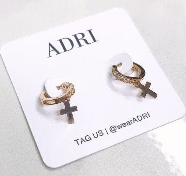 Handmade ADRI | 14k Gold Filled Cz Huggie Earring