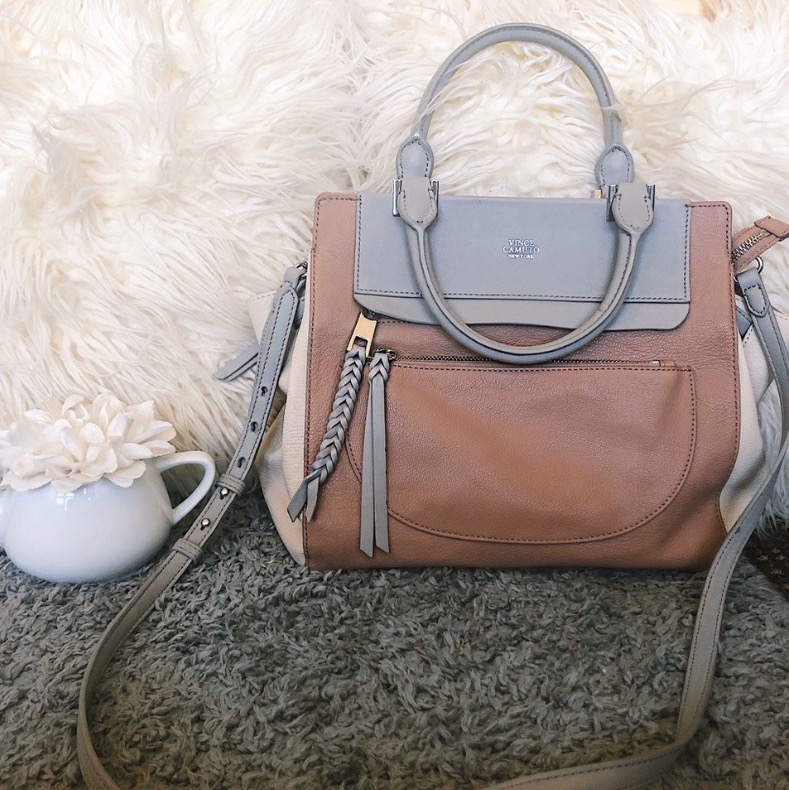 Vince Camuto leather purse