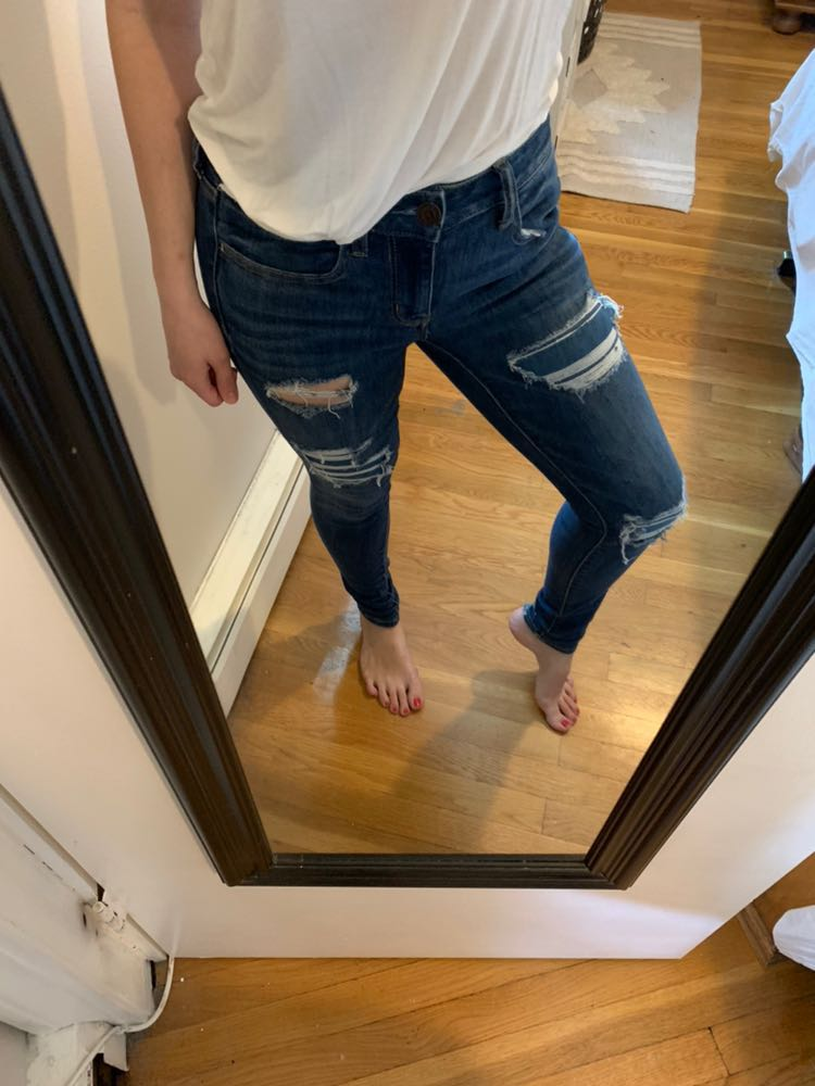 American Eagle Outfitters American Eagle Ripped Jeans