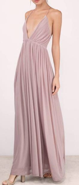 Tobi Mauve Formal Dress