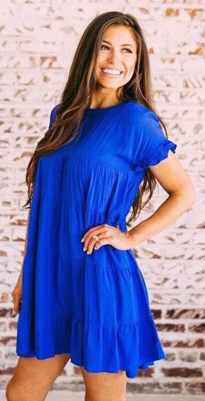 These Three Boutique tiered babydoll dress