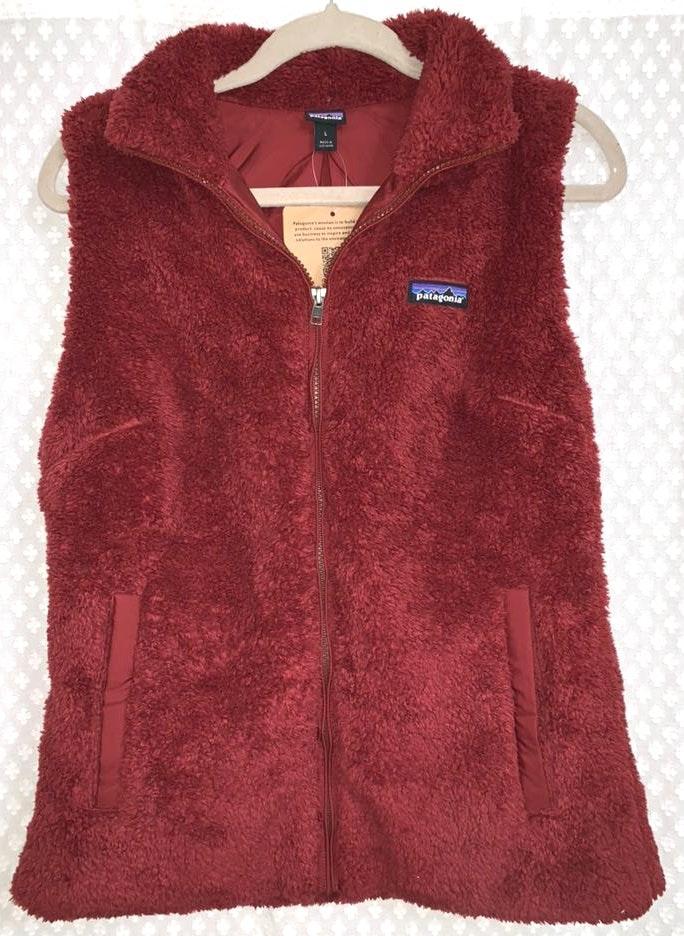Patagonia Red Fleece Vest