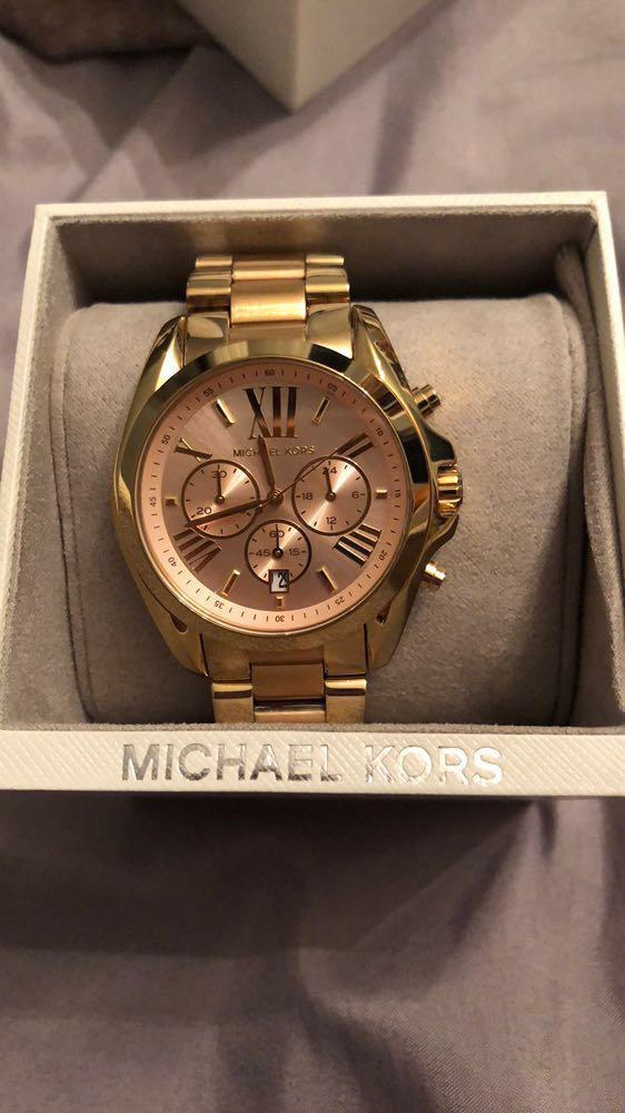 Michael Kors Rose Gold Face Watch