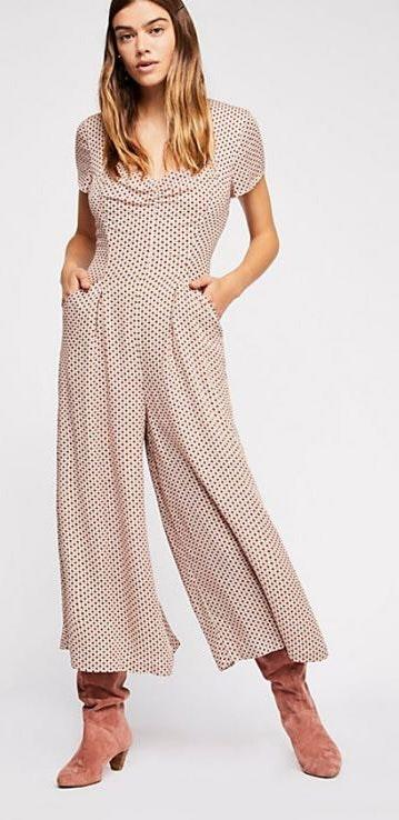 Free People Lovestory Jumpsuit