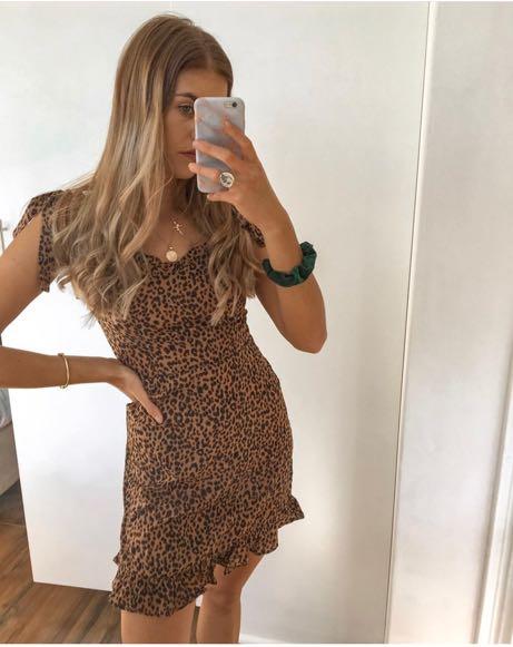 Brand New Cheetah Cami Mini Dress