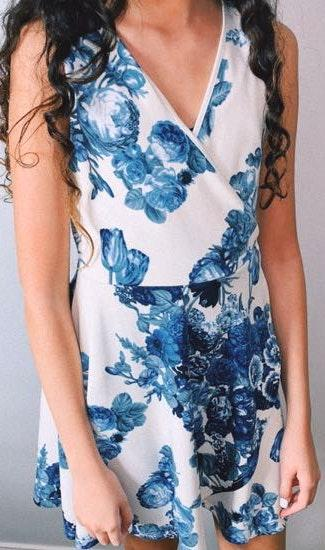Pitaya Floral  Dress