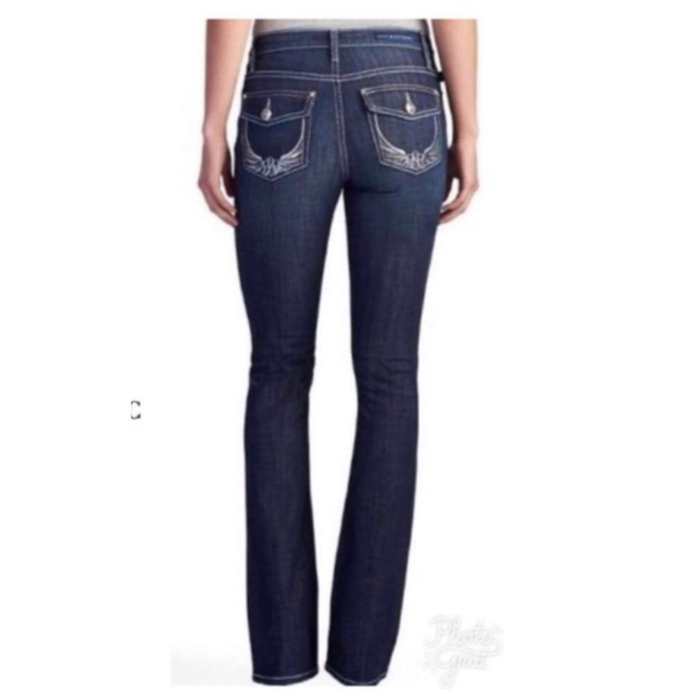 Rock & Republic Embellished Dark Boot Cut Jeans