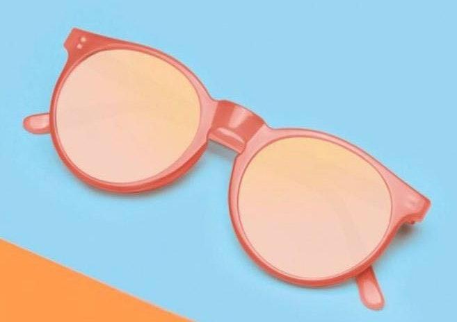 Miss hamptons Pink Sunglasses