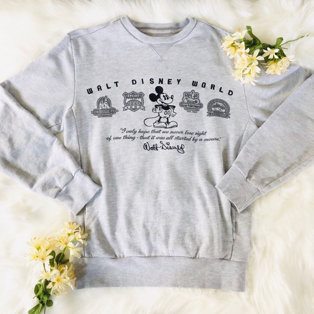 Disney Mickey Mouse Four  Park Sweatshirt