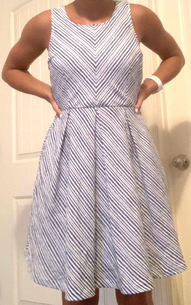 Doe & Rae Striped dress