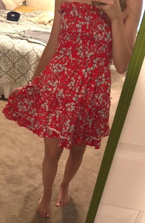 Amazon Red Dress