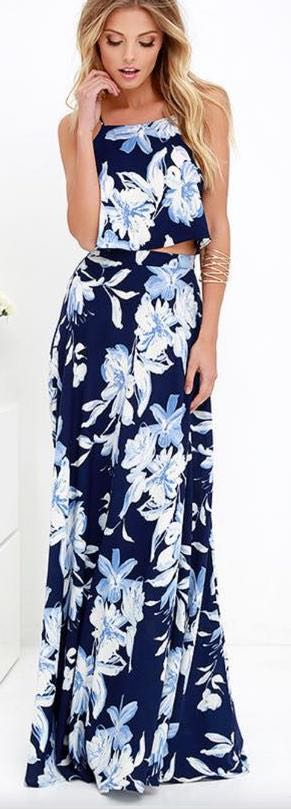 Lulus Two Piece Maxi
