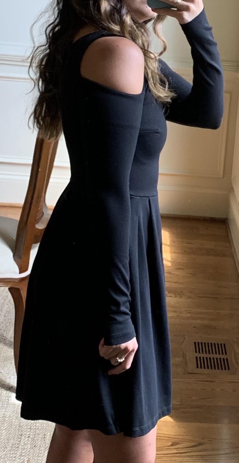 Revolve Susana Monaco Long Sleeve Black Dress Curtsy Vero moda brilliant turtleneck long sleeve sweater dress. revolve susana monaco long sleeve black