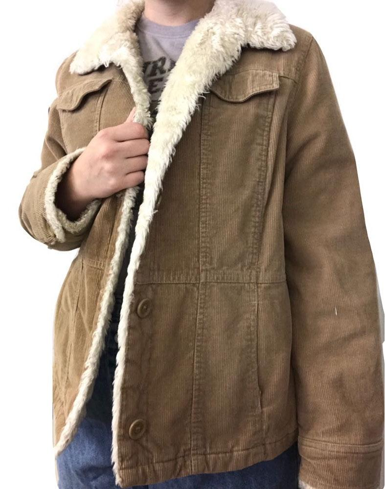 Sonoma Corduroy Furry Jacket