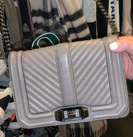 Rebecca Minkoff Gray Crossbody Bag