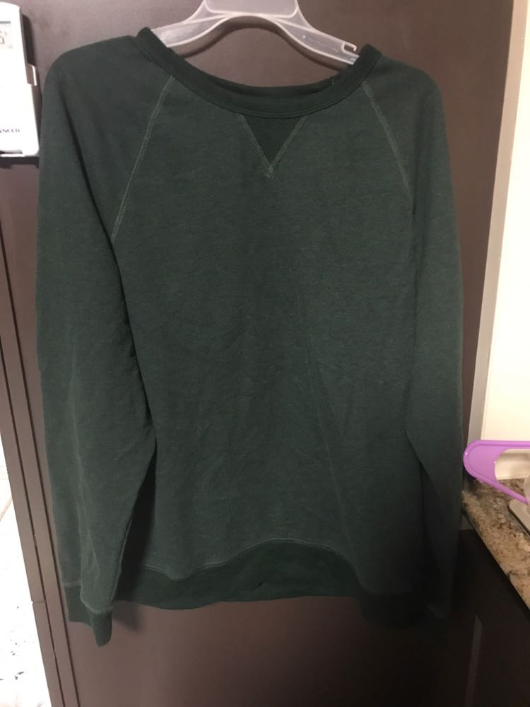 No Boundaries Green Sweater