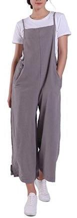 Grey Baggy legged jumpsuit
