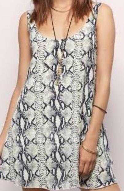 Tobi Snake Skin Dress