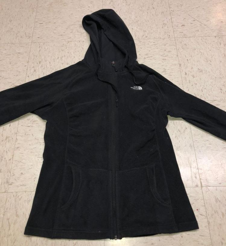 The North Face Black Zip-up Jacket