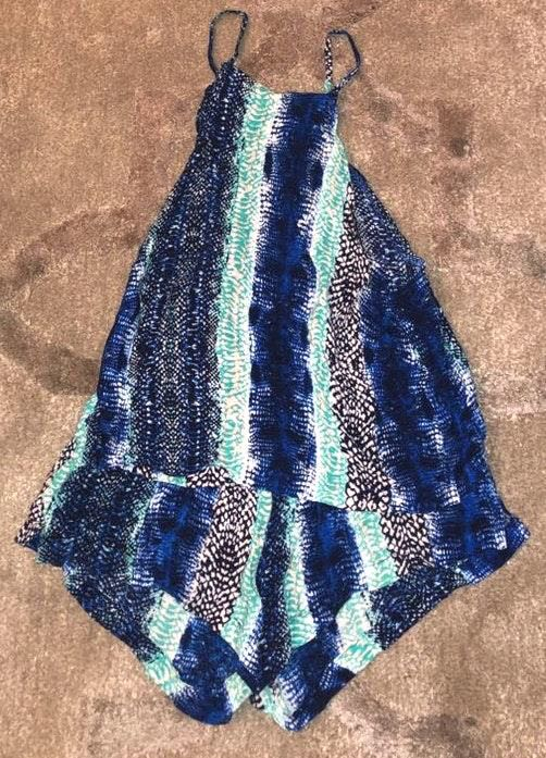 Olivaceous Blue Two Piece
