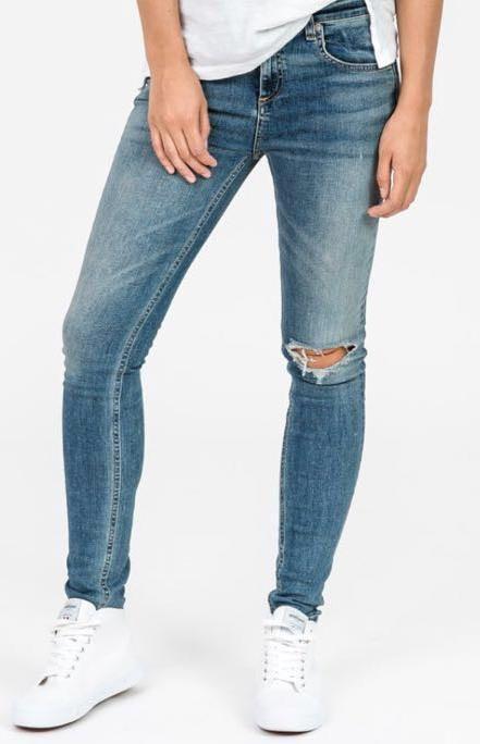 Rag & Bone Semi Destroyed Jeans