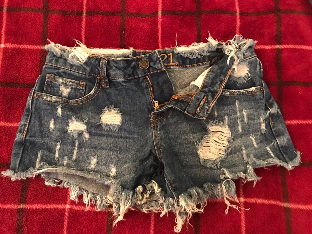 Rue 21 Destroyed Shorts