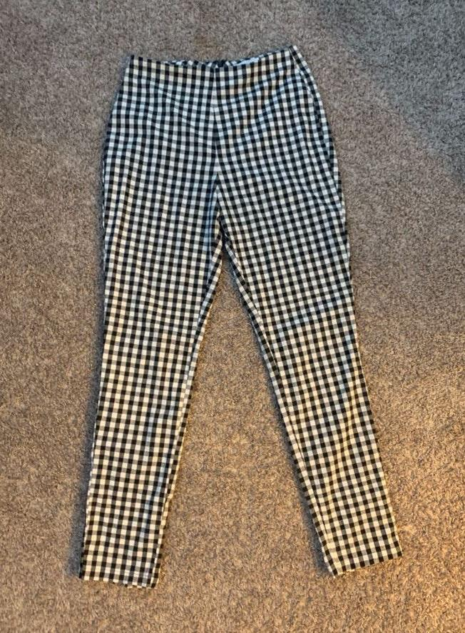 by the way. Adorable Checkered Pants