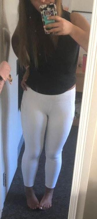 Athleta White Leggings