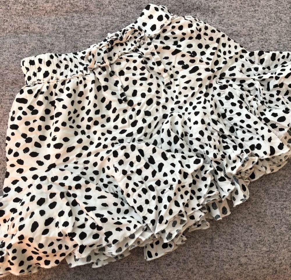 Showpo Spotted Pull String Skirt