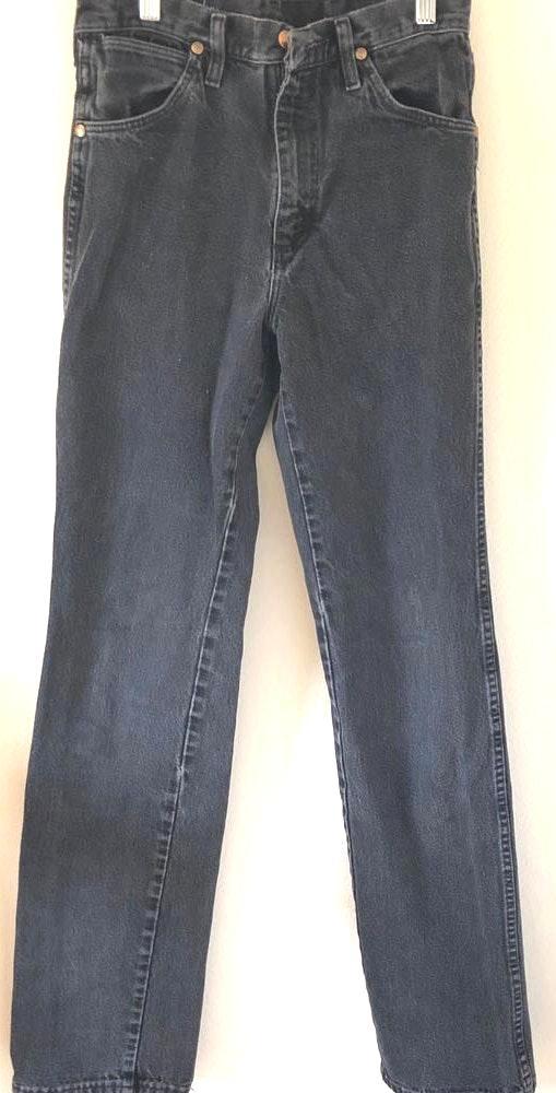 Wrangler Faded Black  Jeans