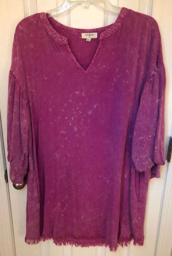 Umgee Boutique Cover up/Dress