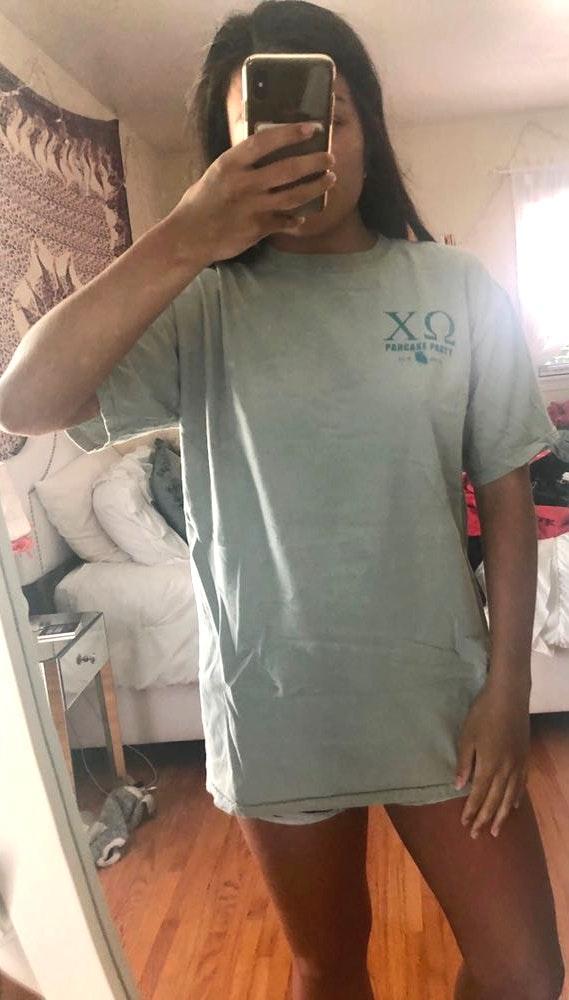 Comfort Colors Chi Omega T-shirt