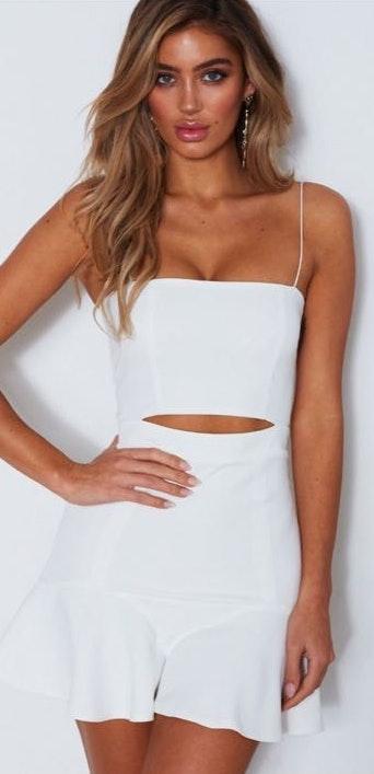 White Fox Boutique White Dress