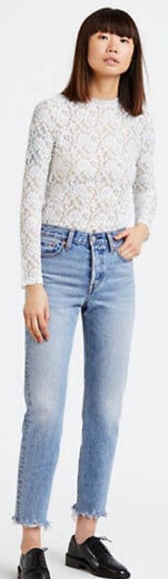 Levi's 505 Cropped Jeans