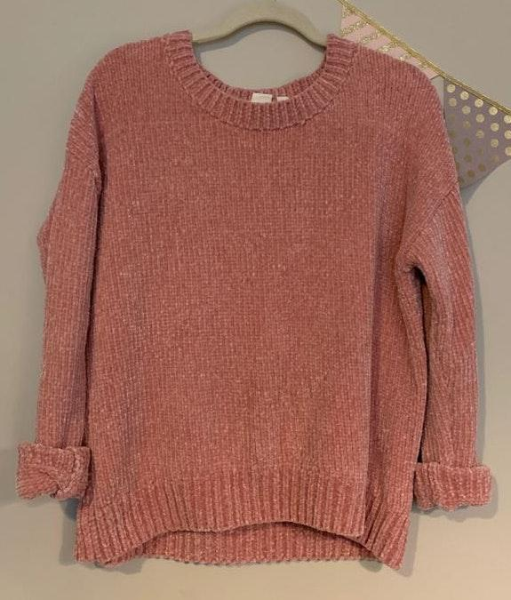 Gap Fluffy Chenille Sweater