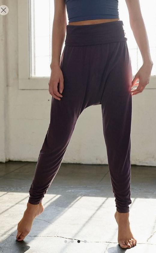latest fashion release date: best prices Free People echo harem pants | Curtsy