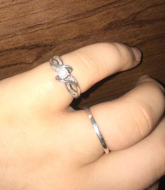 Kay Jewelers Diamond Ring Curtsy