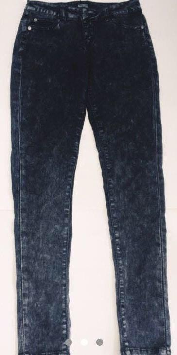 Celebrity Pink Black Acid Wash Jeans