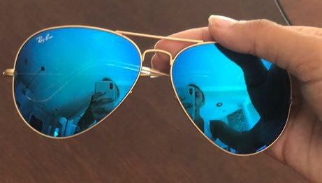 Ray-Ban Blue Aviators