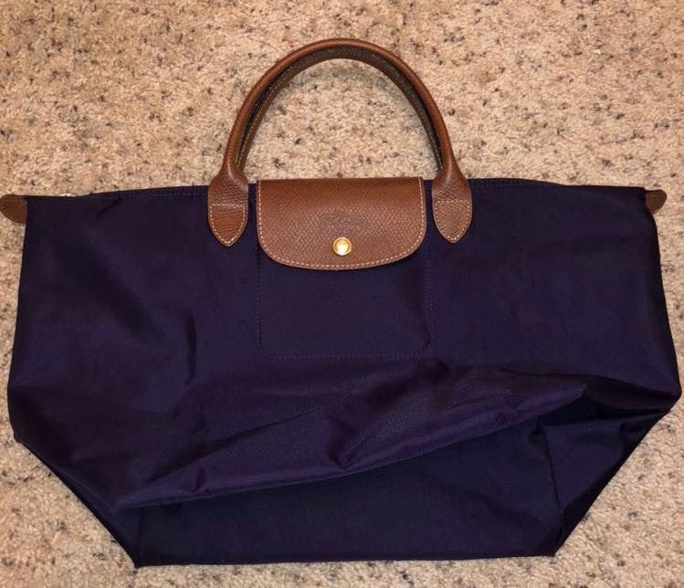 Longchamp Navy Le Pliage Bag