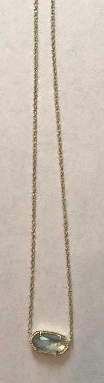 Kendra Scott Light Blue  Elisa Necklace